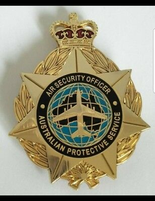 Australian Protective Service Badge  police federal commonwealth Air Security