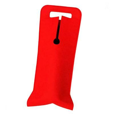 Felt Single Wine Bottle Holder Camping Picnic Beer Can Cooling Bag Insulator