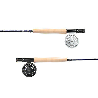 3/5WT Carbon Fiber Fly Rod Large Arboe Fly Reel 8.3/9FT Fly Fishing Combo