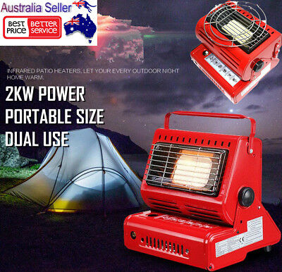 Portable Butane Gas Heater Camping Camp Tent Hiking Outdoor Camper Companion New
