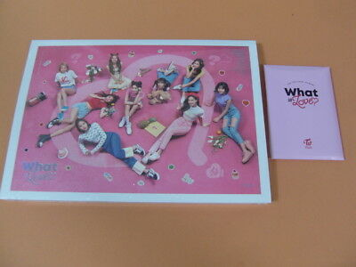 TWICE - What is Love? (A Ver) CD w/Booklet+3Photocard+PO Benefit+Sticker(Sealed