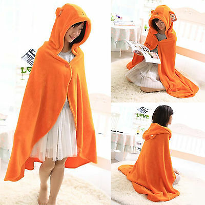 Anime Himouto Umaru-chan Cosplay Cloak Hoodies Flannel Coat Daily Blanket Quilt