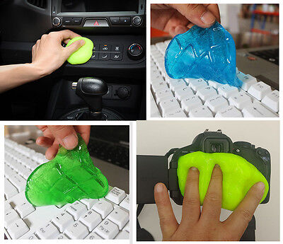 Magic Cleaning Gel Putty Car Keyboard Console Laptop Computer Cleaner Dust 2018