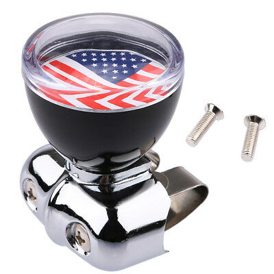 USA American Flag Steering Wheel Spinner Suicide Knob Handle for Car/Truck New