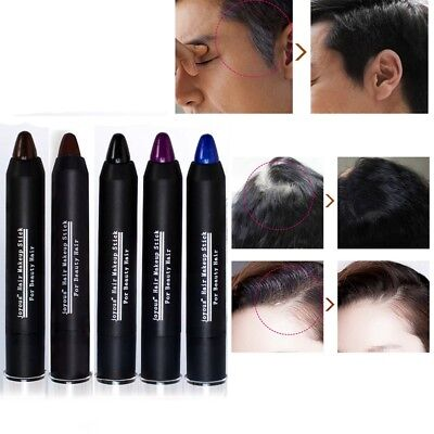 Non-Toxic Unisex Hide Cover Instant Gray Hair Touch Up Stick Hair Root Color