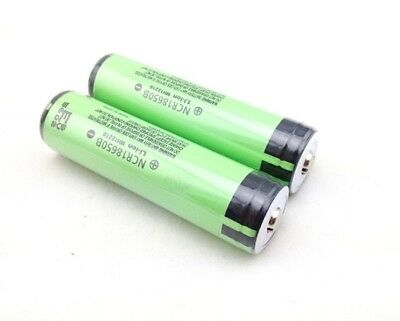 2pcs Genuine Protected Panasonic NCR18650B 3400mAh Rechargeable Battery with PCB