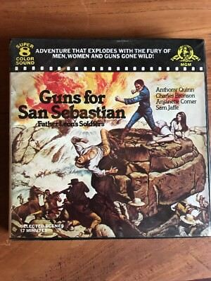 Super 8 Film: Guns for San Sebastian