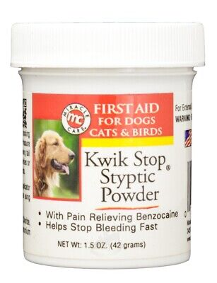 Kwik Stop  Styptic First Aid Powder with Benzocaine (42 g)