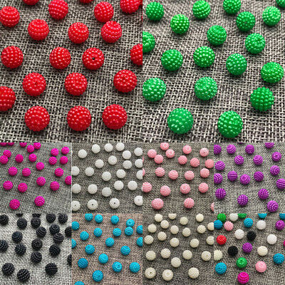 Wholesale 10mm 12mm Round Pearl Plastic Beads Lot Jewelry Making Accessories