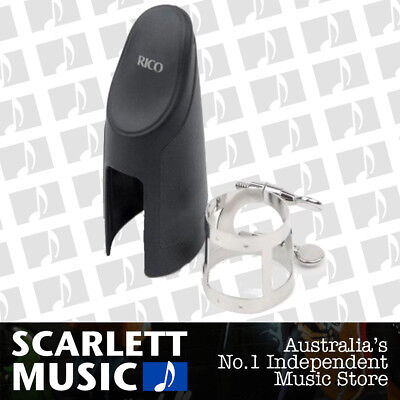 Rico Nickel Plated Ligature for Bb Clarinet RCL1N w/ Mouthpiece Cap