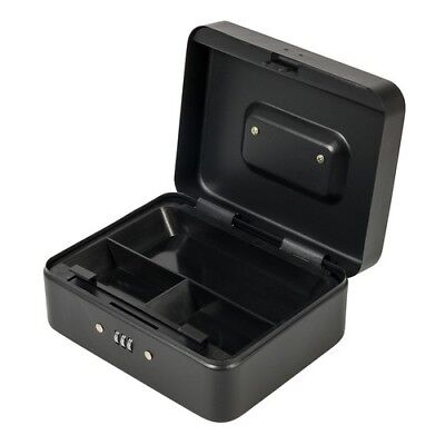 Silverline 732370 3-Digit Combination Cash & Valuables Safe Box 200 x 160 x 90mm