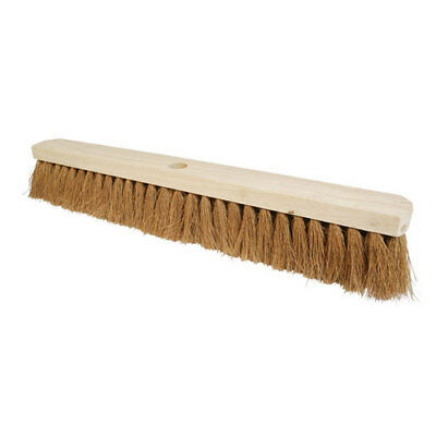 "Silverline 656623 Broom Soft Coco 610mm (24"")"