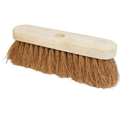 "Silverline 868766 Broom Soft Coco 254mm (10"")"