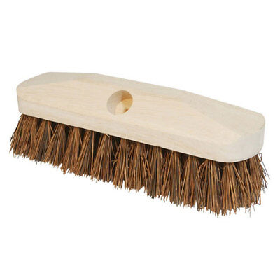 "Silverline 633813 Deck Scrub Brush 228mm (9"")"