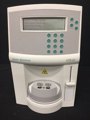 Dade Behring PFA-100 Platelet Function Analyzer *Powers On*