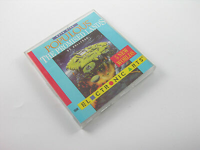 "Populous: The Promised Lands Addon 5 New Worlds 5,25"" Diskette Rar Bullfrog DOS"