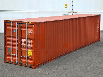 40ft (8,6 high) shipping container in cargo-worthy condition, Detroit, Michigan