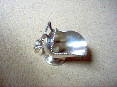 Vintage Silver Plated Sugar Bowl Shaped Like A Coal Scuttle And Scoop