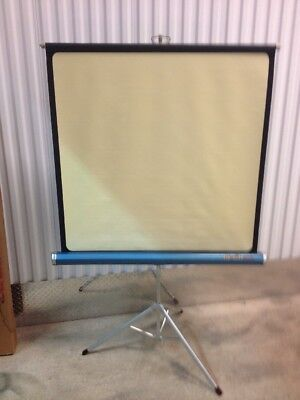 Da Lite Challenger 40x40 Projection Projector Screen Blue Turqoise (ddh100)