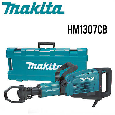 "Makita HM1307CB 35 lb. Demolition Hammer, Accepts1‑1/8"" Hex Bits w/Full Warranty"