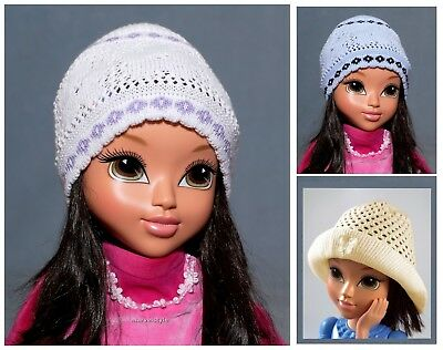 GIRLS HAT SPRING / AUTUMN GIRLS KNITTED HATS size: 50-52 cm /age: 2-6 years FAB!