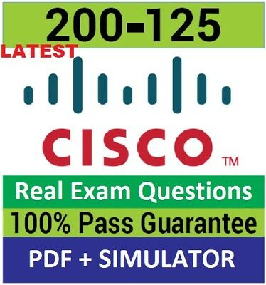 CCNA  200-125 exams questions pdf and simulator