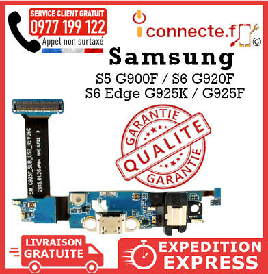 Connecteur De Charge Samsung Galaxy S5 G900F / S6 G920F / S6 Edge G925K / G925F