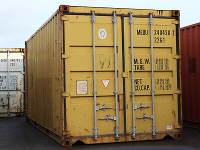 """40ft (8´6 high) shipping container, """"wind & watertight"""", Detroit, Michigan"""