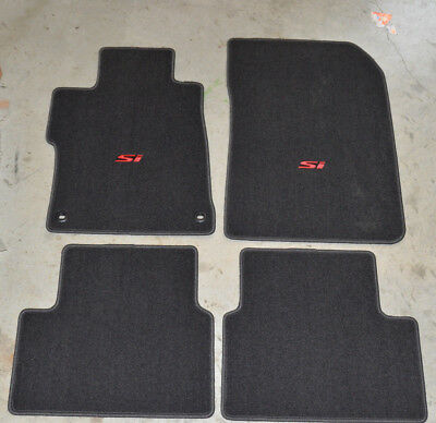 NEW Genuine OEM 2014-2015 Honda Civic Si Floor Mat Set - 83600-TR7-A21ZA 4 door