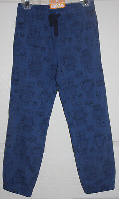 NWT Gymboree Boys Pull on Pants Sweatpants or Joggers Blue Color Size M (7-8)