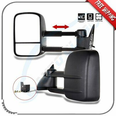 FOR 1988-2002 CHEVY//GMC C//K 1500-3500 POWERED ADJUSTMENT TOW TOWING MIRROR LEFT