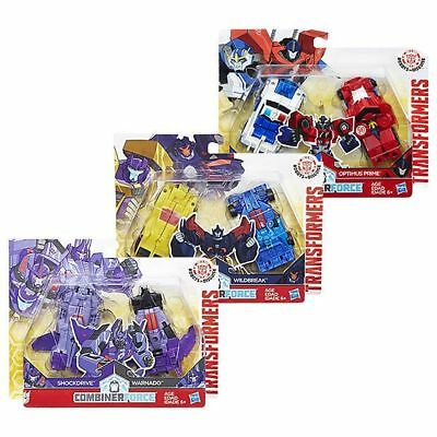 NEW Transformers Robot In Disguise Crash Combiners Assorted