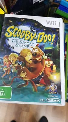 Scooby Doo And The Spooky Swamp Nintendo Wii 18 02 Picclick Au