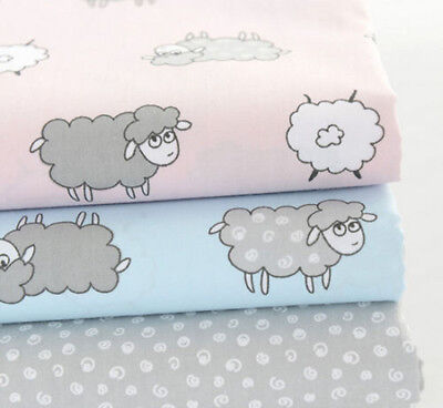 One PCS Pre-cut Curly Sheep Fabric Cotton Baby Fabric For Sewing