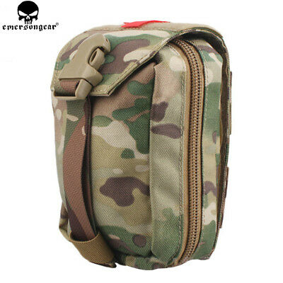 Tactical Molle Medical First Aid Kit Bag Emergency Survival Rescue EDC Pouch