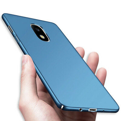 For Samsung Galaxy S9 S8 J7 2017 Slim Shockproof Ultra-thin Hard Back Case Cover