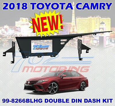 2018 Toyota Camry Double Din Radio Stereo Installation Mounting Dash Kit Bezel