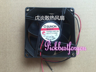 SUNON PE80252V1-000C-A99 DC24V/4.8W 80*25mm 2pin Equipment cooling fan #MU21 QL