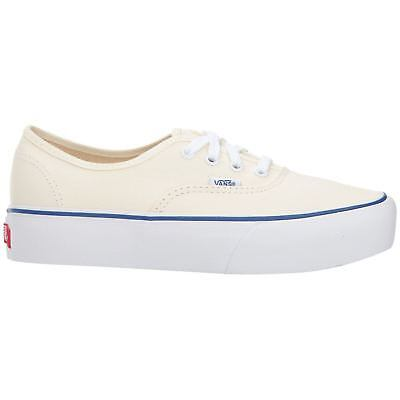 1fce49e3d559 Vans Authentic Platform Classic White True White Womens Canvas Flatform  Trainers