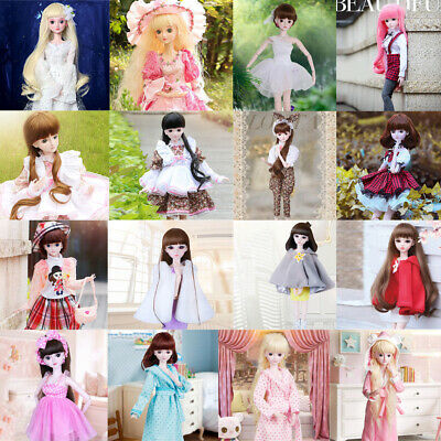 Pretty Dress Sleepwear Outfit for 60cm Fairy Night Lolita 1:3 BJD Doll Accessory