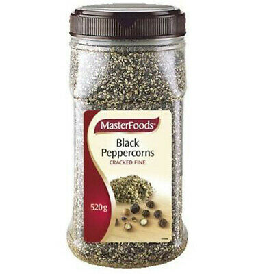 Masterfoods Herb & Spice Black Peppercorns 420gm