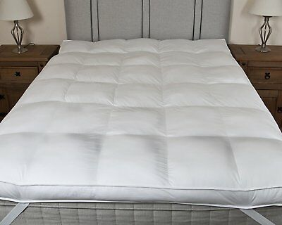 Mattress Topper Microfiber Extra Deep Bed Bedding Protector New Height Sleep Aid