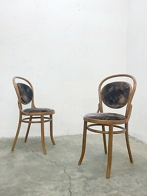 1of2 VINTAGE 30s 50s 60s 70s 80s THONET STYLE BENTWOOD CHAIRS IN USED CONDITION