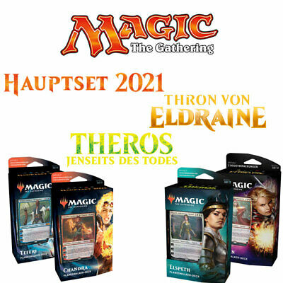 Magic The Gathering COMMANDER-DECKS, PLANESWALKER-DECKS, GILDEN-KITS | Deutsch