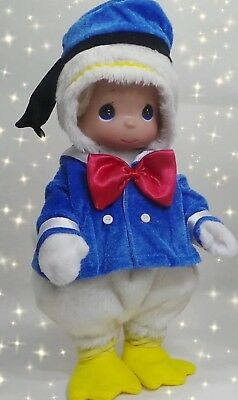 "Disney Donald Duck Doll - Precious Moments 12"" Vinyl  Doll"