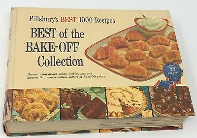 Pillsbury's BEST 1000 Recipes Best of the Bake-Off Collection Cookbook 1959