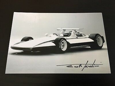 Autographe Photo Signed Chief Designer Pininfarina Ferrari F1 Sigma