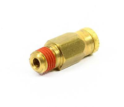 """(10) Brass Push-to-Connect Connector, Male - 3/16"""" x 1/16"""""""