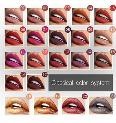 NYX Cosmetics Soft Matte Lip Cream Liquid Gloss Lipstick Long Lasting 21 Colors