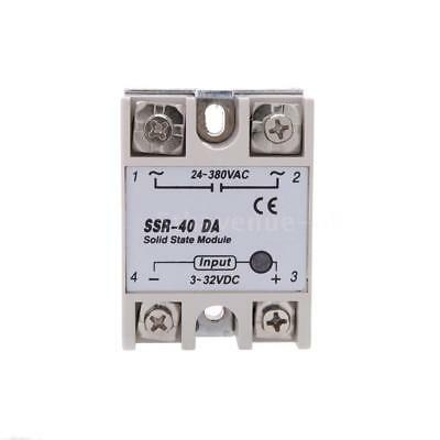 For PID Temperature Controller 24V-380V SSR-40 DA Solid State Relay Module N0T9